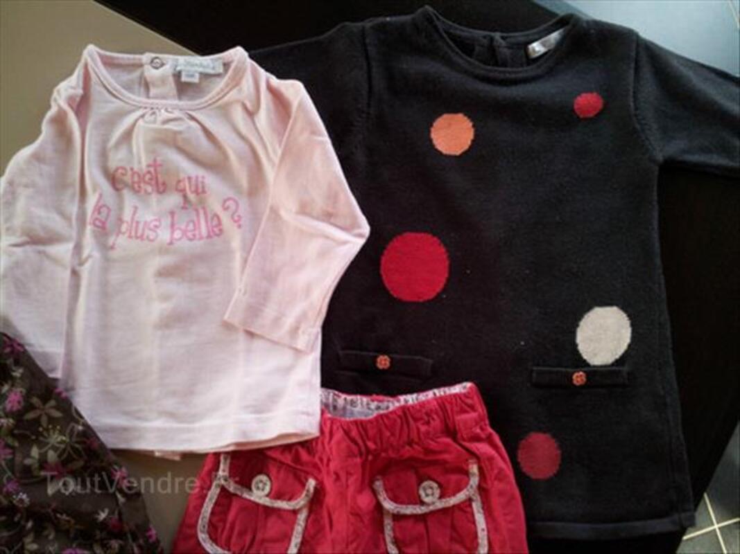 3 vêtements bébé fille 6 mois Automne/Hiver Kimbaloo 89183050