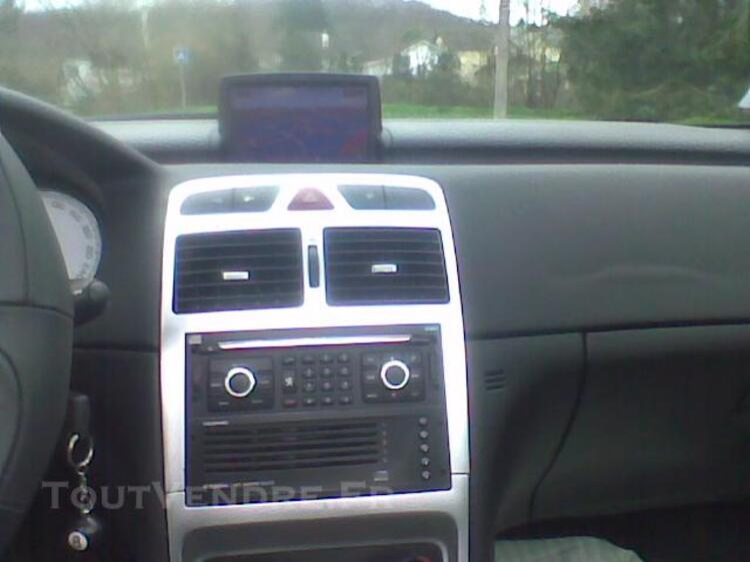 307 CC Tout cuir GPS NAVTEQ faible kilométrage très bon état 74630962