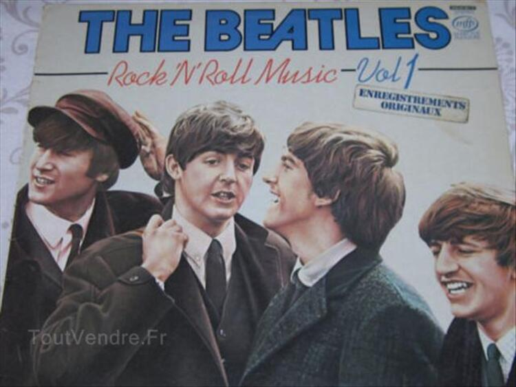 33 TOURS DES BEATLES ROCK ROLL MUSIC VOL 2 56522166