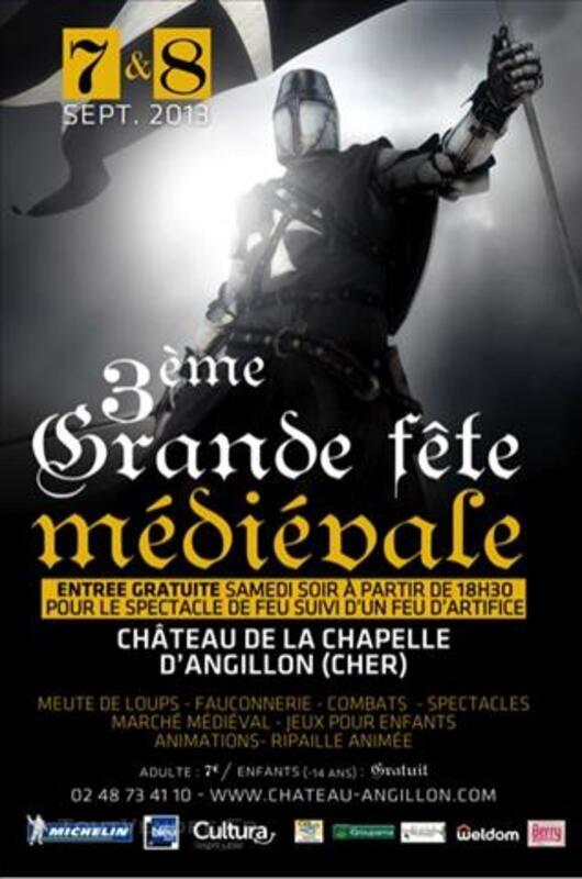 3ème Grande Fête Médiévale, les 7 et 8 Septembre 2013 au Châ 79240581