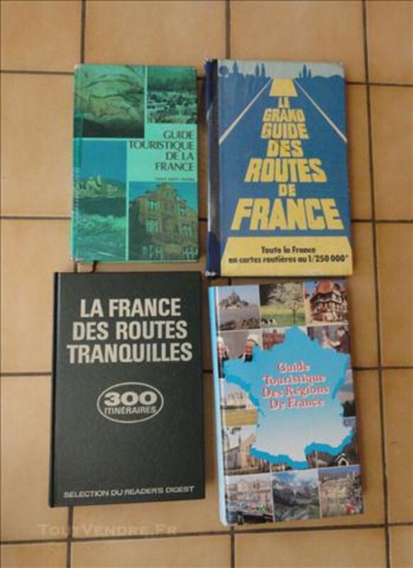 4 guide touristique de la France (détail annonce) 76120646