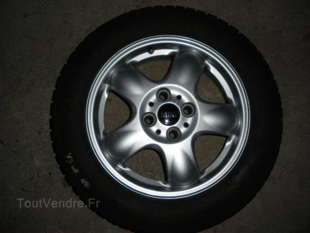 4 jantes alu + pneus Michelin neige pour Mini 97122264