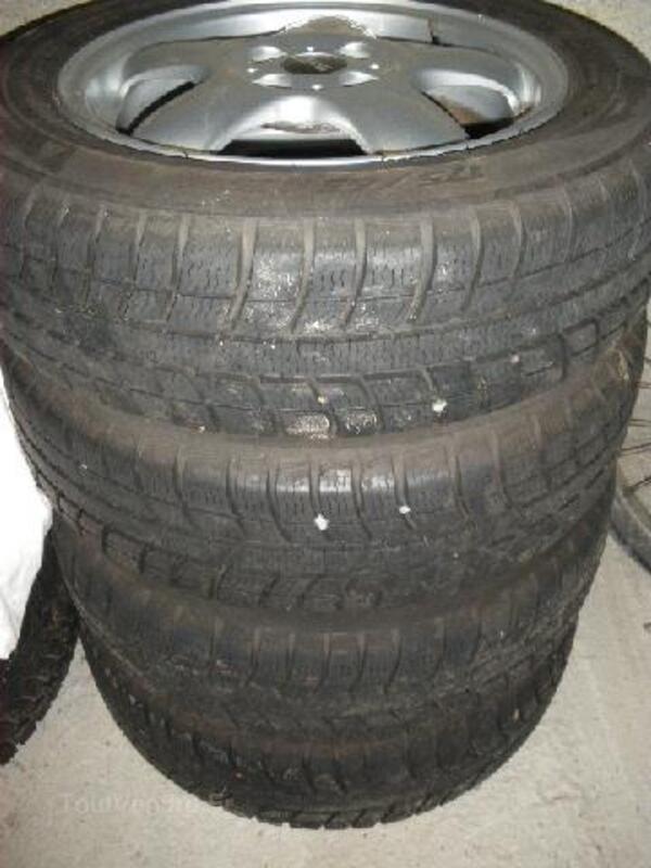 4 jantes alu + pneus Michelin neige pour Mini 97122265