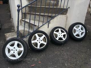 4 Jantes Alu Sport Blanche Renault
