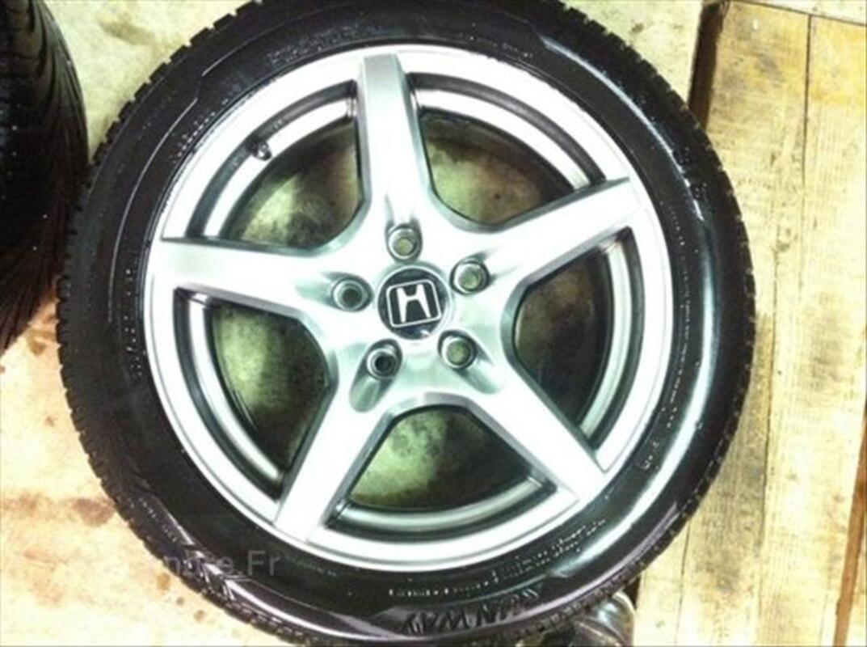 """4 jantes Honda 16"""" + pneus 205/50/16 87W 56237264"""