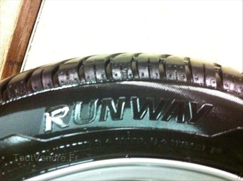 """4 jantes Honda 16"""" + pneus 205/50/16 87W 56237265"""