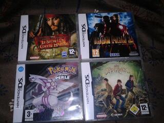 4 jeux pour nintendo DS