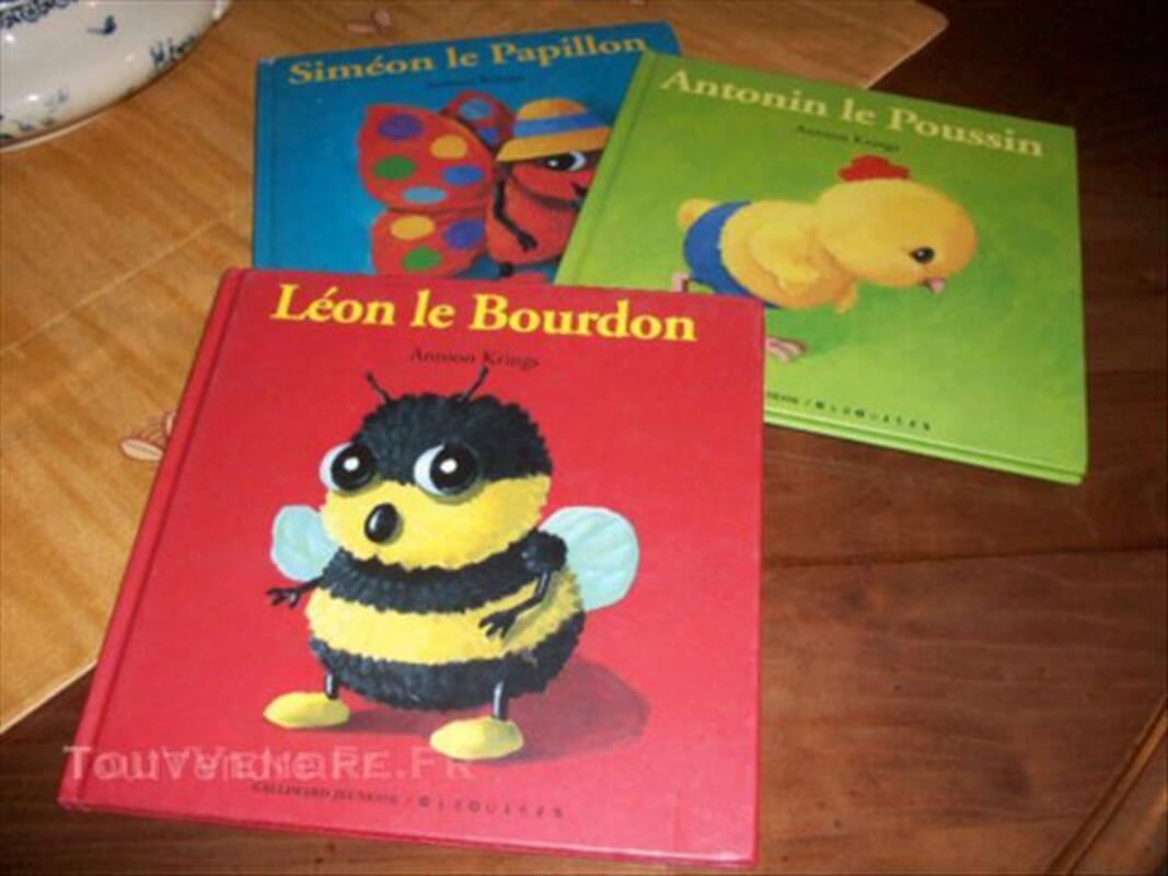 4 livres enfant 43924534