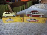 4 VEHICULES MINIATURES DINKY TOYS 1/43 EME