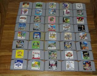 40 jeux Nintendo 64 jap
