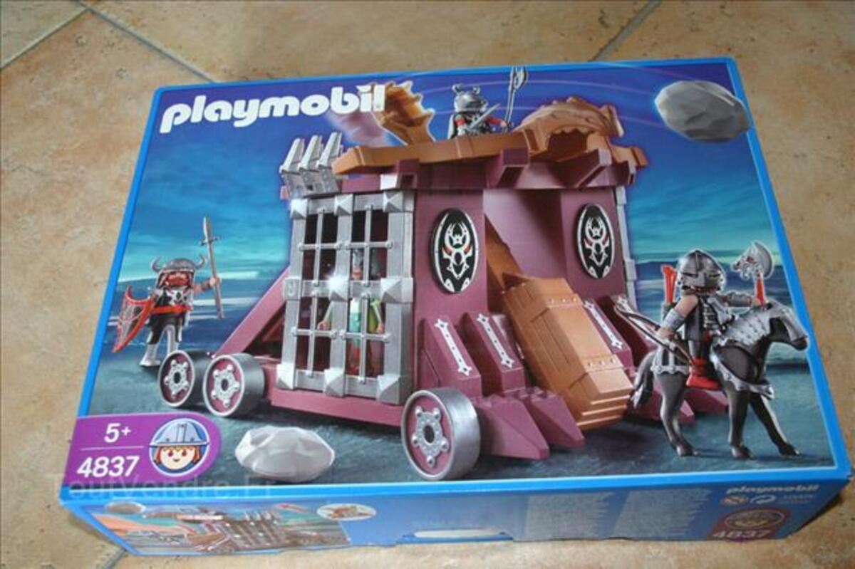 4837 Catapulte géante et cachot playmobil 72547793