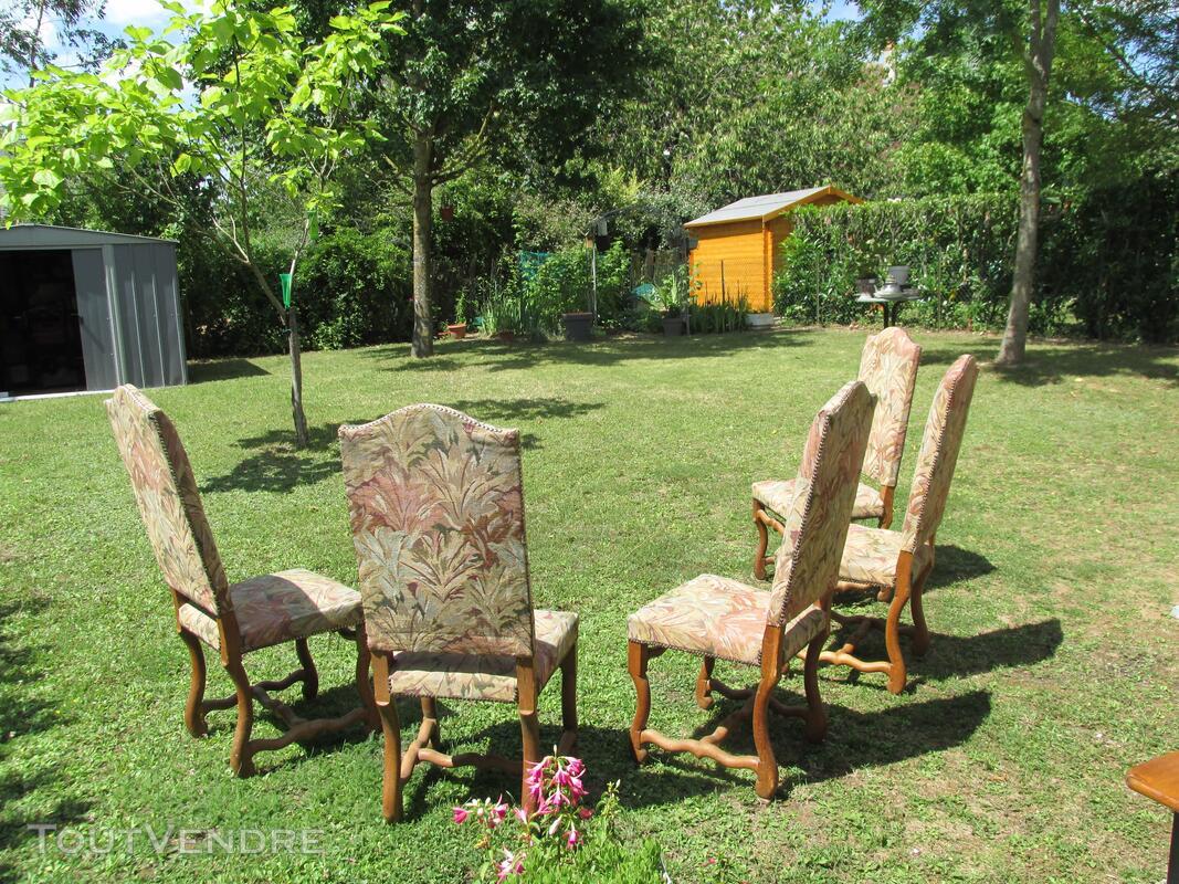 5 chaises os de mouton 253505347