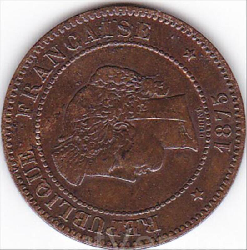 5 pièces de monnaies anciennes françaises 41620275