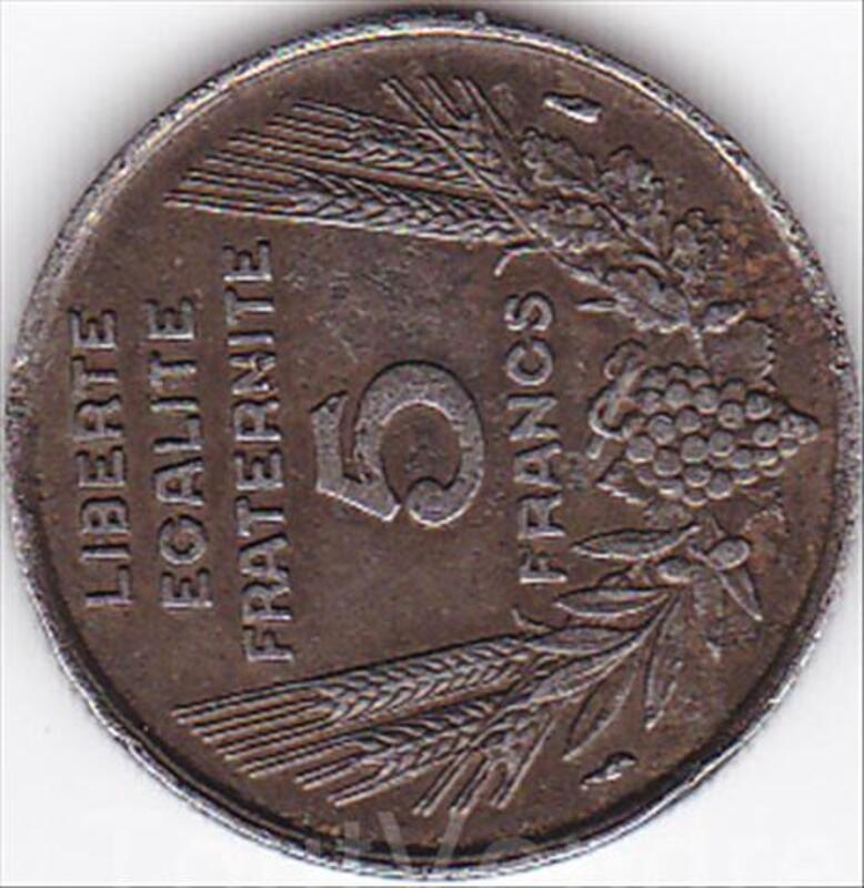 5 pièces de monnaies anciennes françaises 41620276