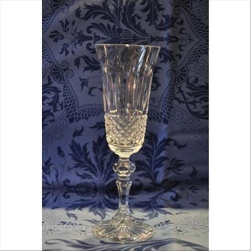 6 Flutes à champagne cristal SAINT LOUIS 66107023