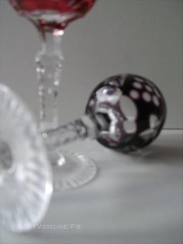 6 verres a liqueur en cristal de lorraine1950 81700931