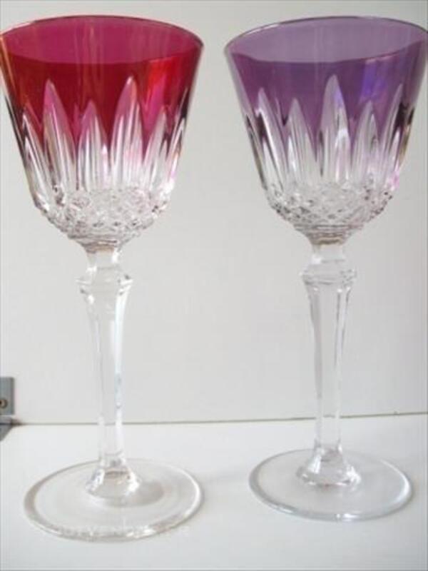 6 verres à vin en cristal des vosges 86145600