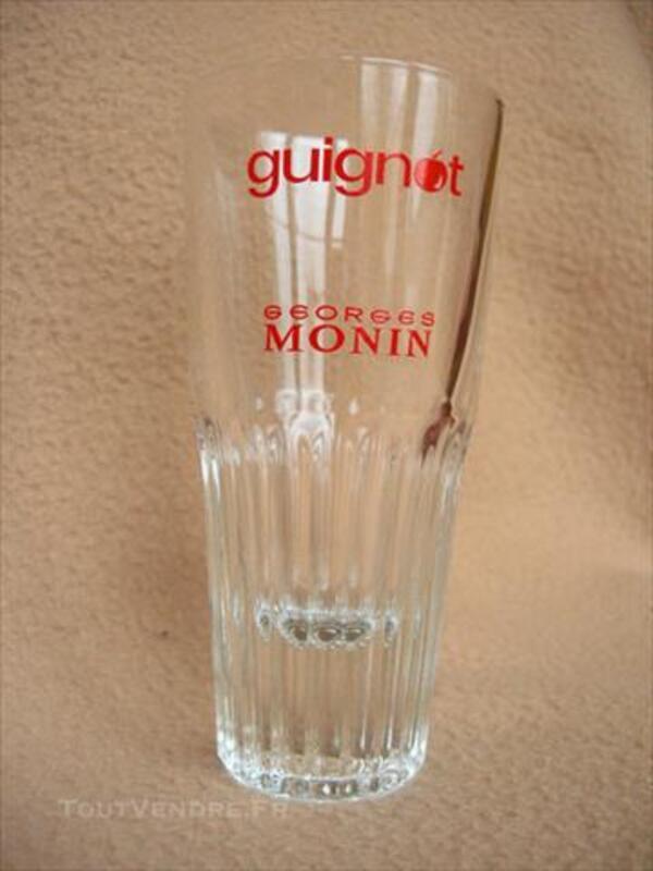 """6 verres publiciatires """"Guignot"""" 84853257"""
