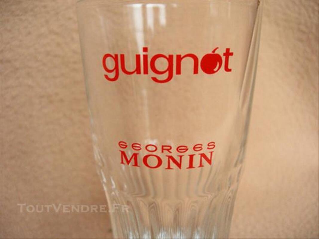 """6 verres publiciatires """"Guignot"""" 84853258"""