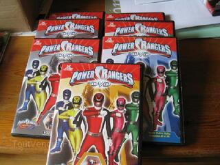 7 DVD power rangers
