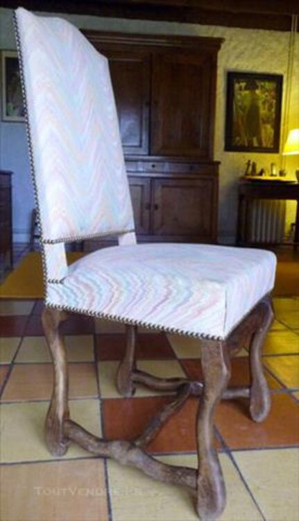 8 Chaises anciennes 83090151