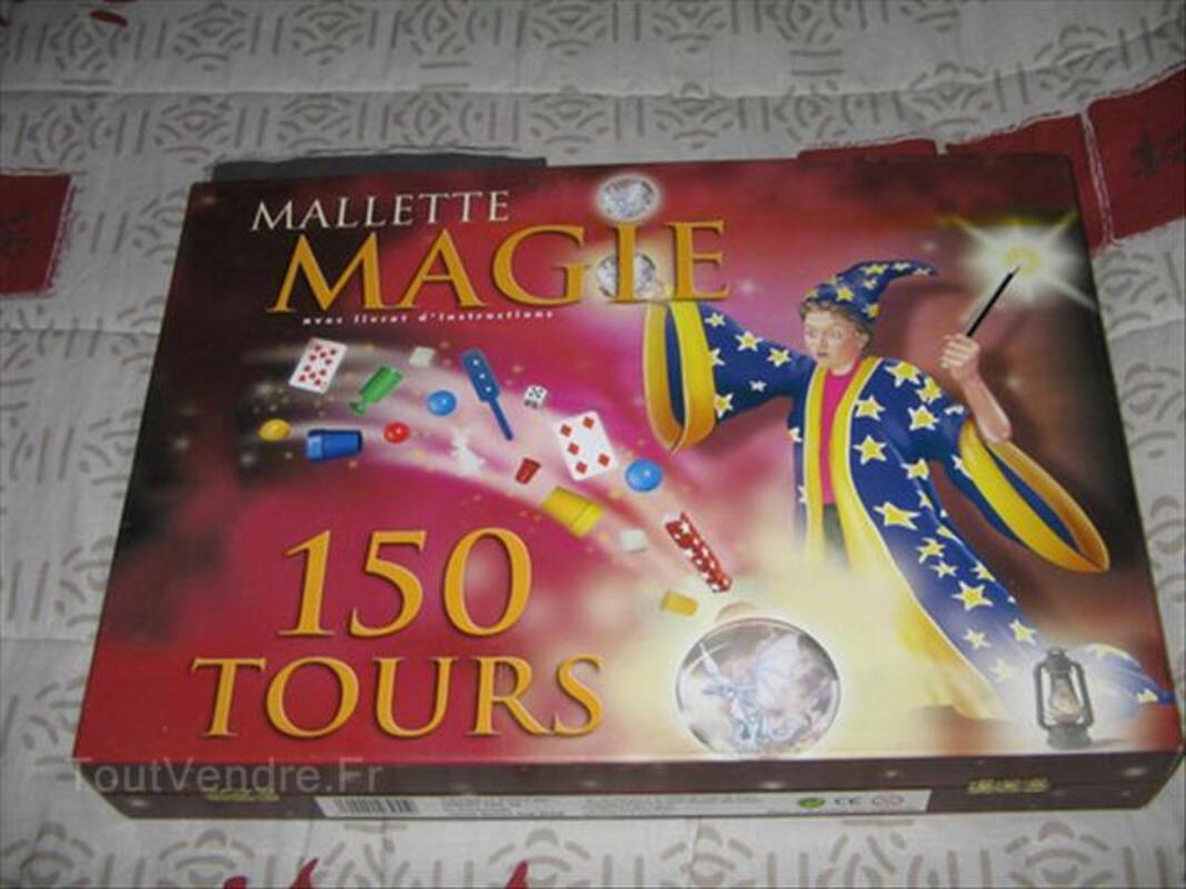 A SAISIR mallette MAGIE avec livret d'instruction 64514481