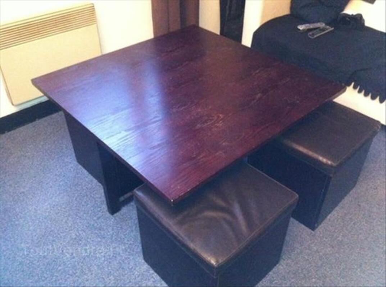 A SAISIR !!! TABLE BASSE + 4 POUF INTEGRABLES 54707688