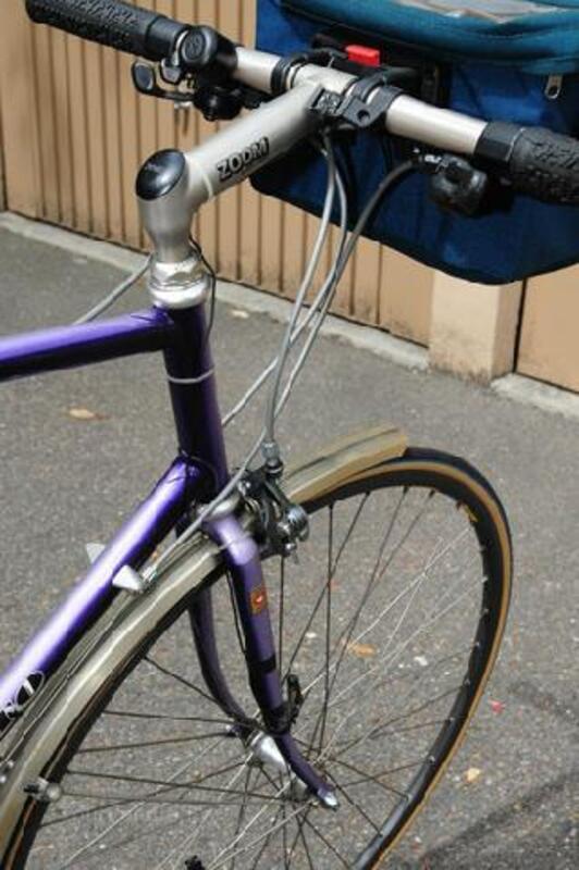 A saisir Vélo de course marque « VENETO » guidon plat 91498398