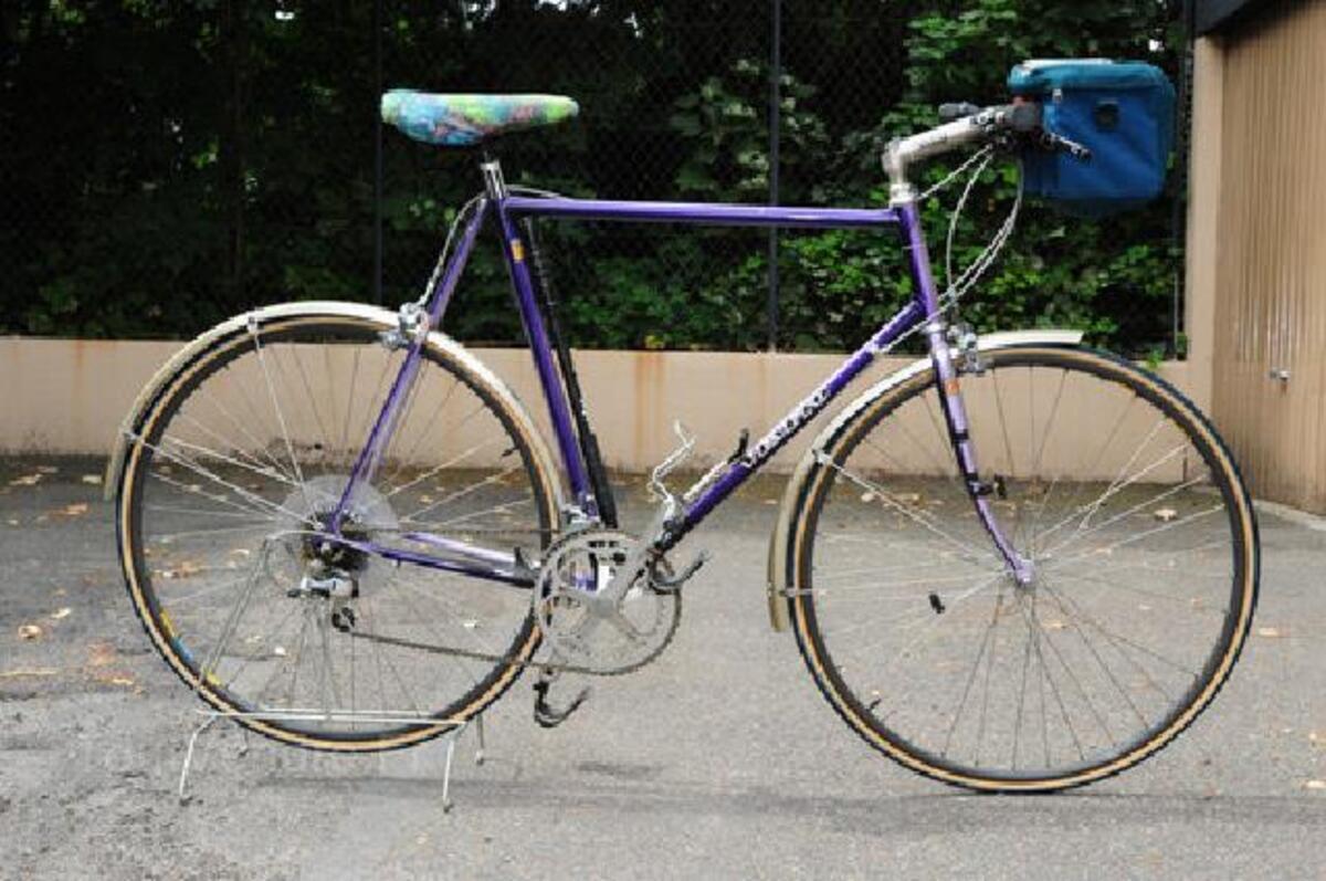 A saisir Vélo de course marque « VENETO » guidon plat 91498399