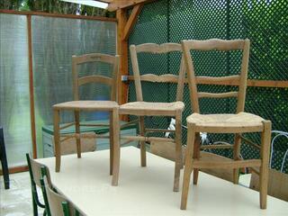 A vendre chaises