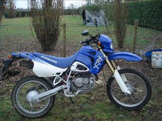 A Vendre moto 125 HYOSUNG XRX