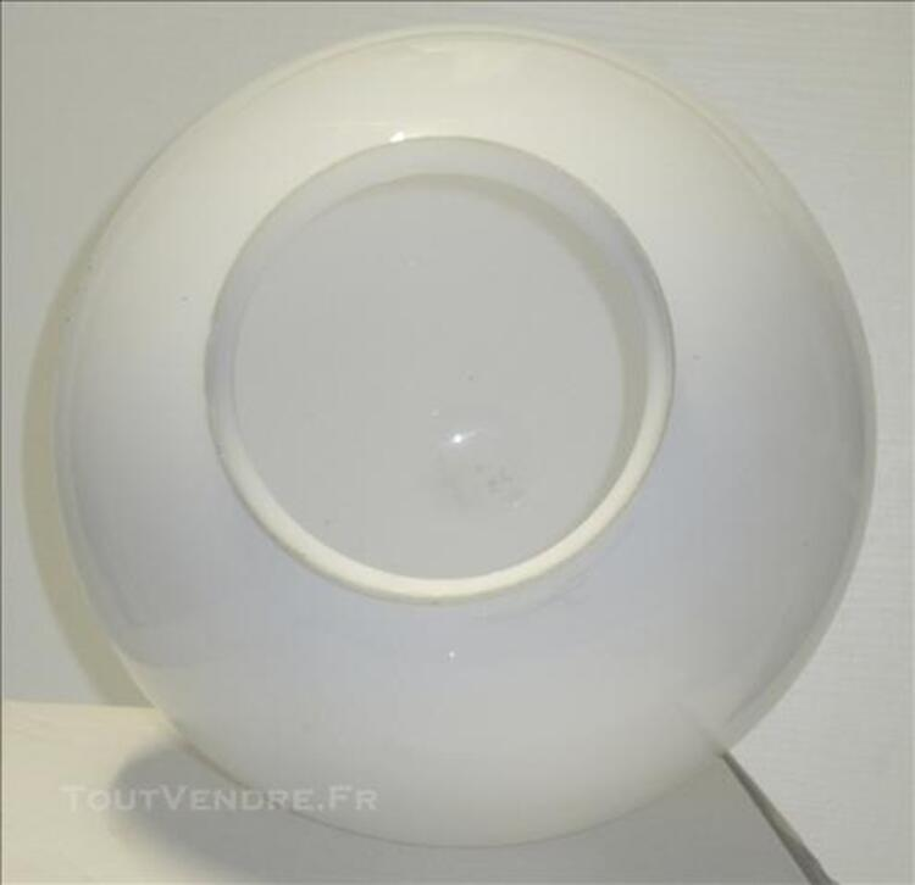 Abat-jour de lampe en verre blanc 76644652
