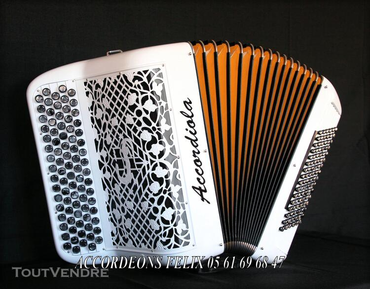 ACCORDEON ACCORDIOLA 012 Carbone Spécial Musette. 359401979