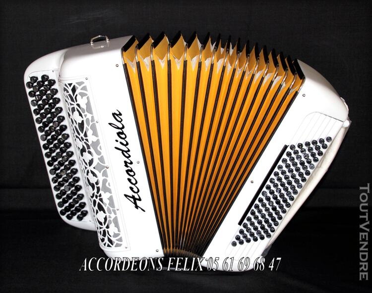 ACCORDEON ACCORDIOLA 012 Carbone Spécial Musette. 359401985