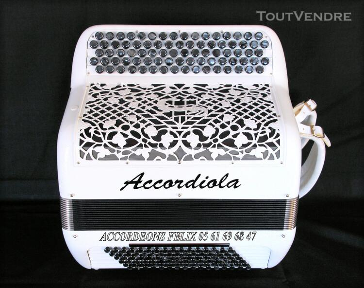 ACCORDEON ACCORDIOLA 012 Carbone Spécial Musette. 359401991