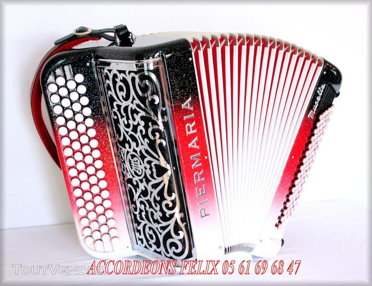 ACCORDEON PIERMARIA P 318 L PROFESSIONNEL MUSETTE. 279094204