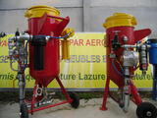 Aerogommeuse hydrogommeuse  professionnelle