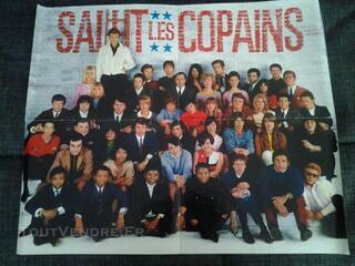 Affiche Salut les Copains , 4e anniversaire magazine
