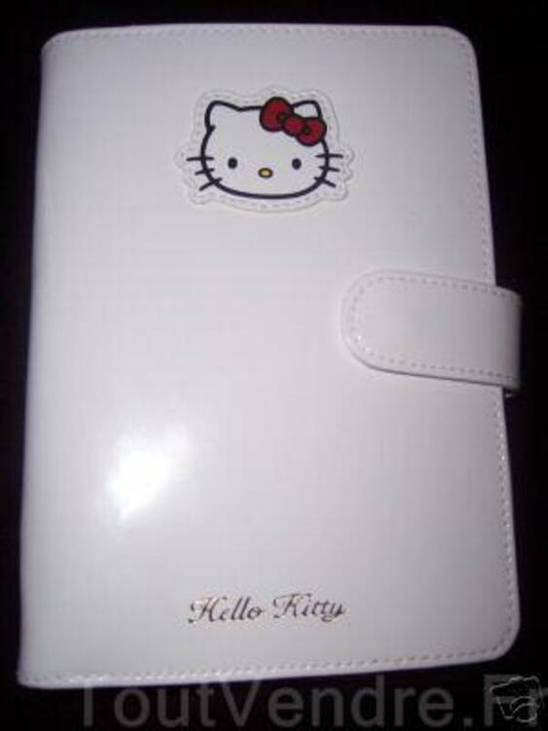 AGENDA HELLO KITTY by VICTORIA COUTURE CUIR VERNI NEUF 10343864
