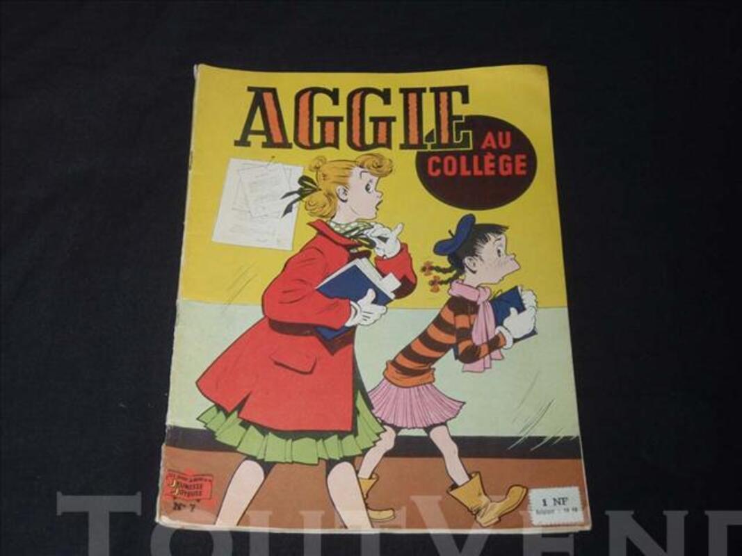 AGGIE au collège N°7 en très bon état édition papier de 1960 74946750