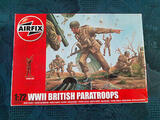 """Airfix 1/72 N° A01723 Figurines """"WWII BRITISH PARATROOPS"""" HO"""
