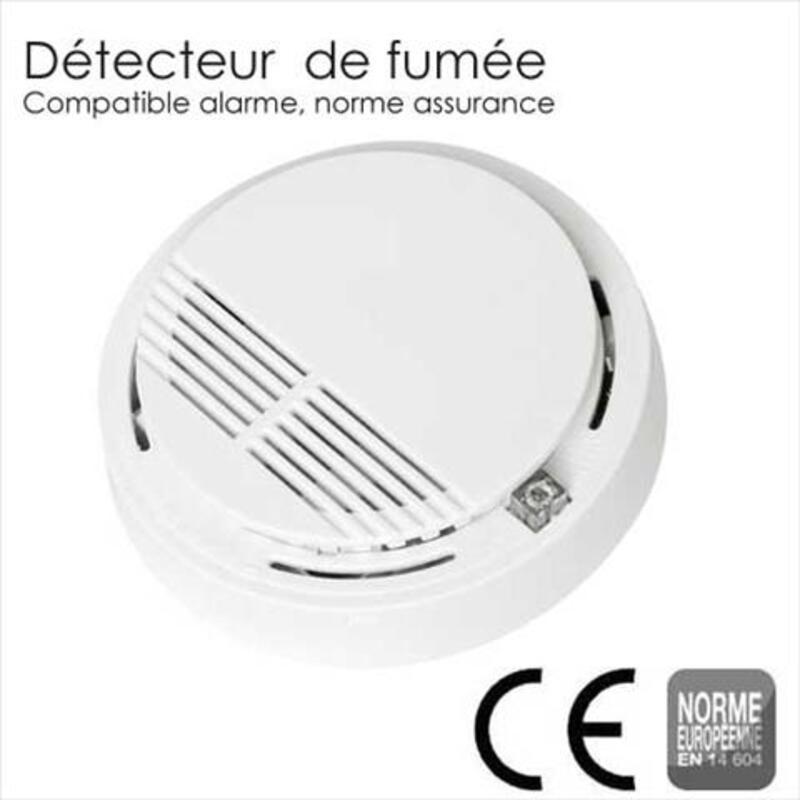Alarme maintien a domicile + detecteur de fumee 101582687