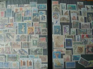 Album de timbres français et étrangers