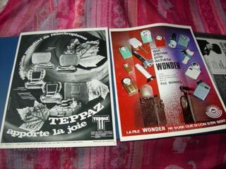 Album publicitaire,voiture,vieux papier,collection.