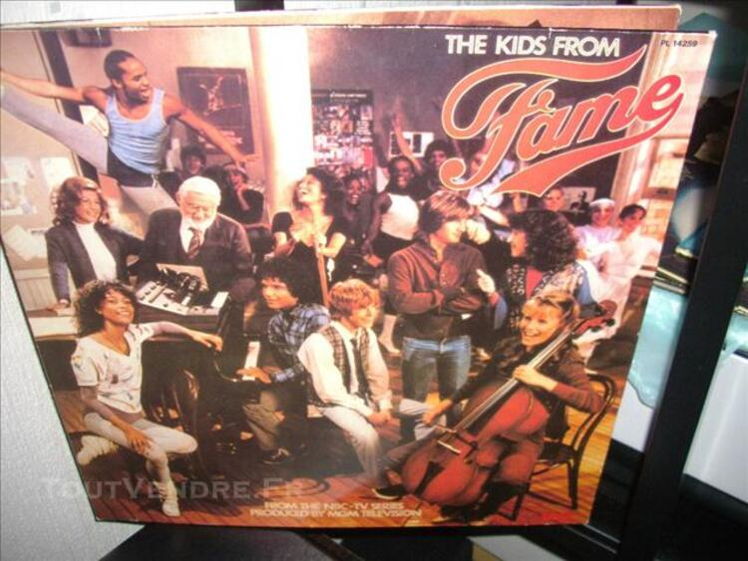 Amateur comedie musicale  vinyles GREASE et FAME 75715910