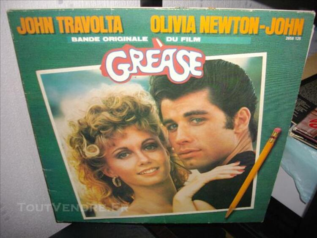 Amateur comedie musicale  vinyles GREASE et FAME 75715911