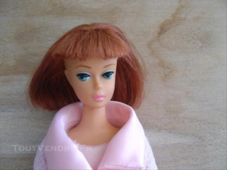 American Girl ponytail no Midg Barbie Repro 1966 77365399