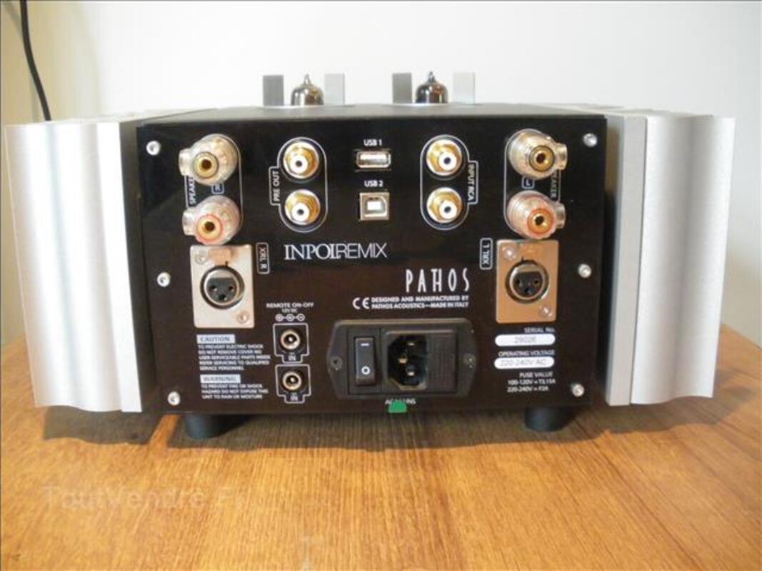 Ampli hifi intégré Pathos Inpolremix pour class A 99935470
