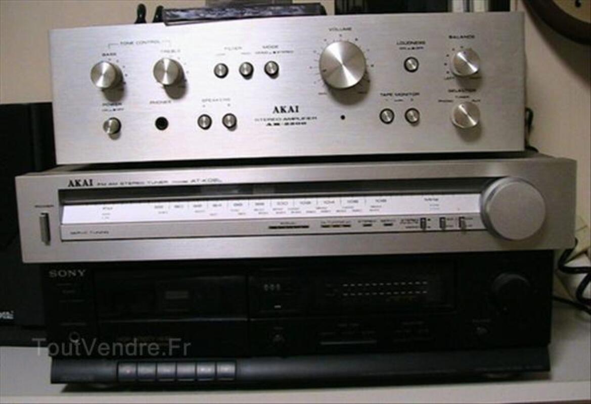 Ampli+Tuner+Stéréo-cassette+Enceintes 55893788