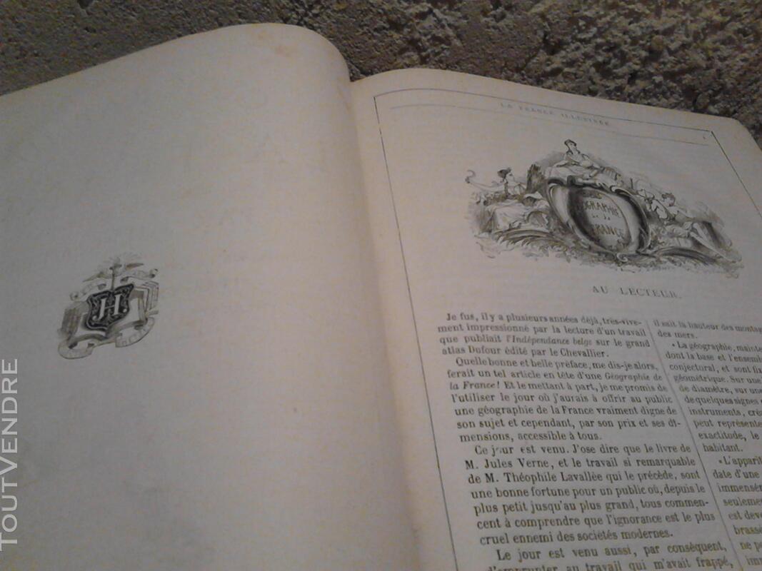 Ancien/Collection Géographie de La France Jules Verne suxn 165044781
